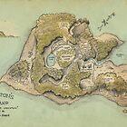 Crichton's Island Map by Craig Wetzel