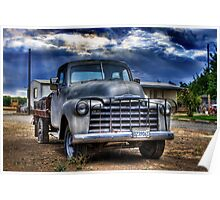 OLD CHEVY PICKUP Poster