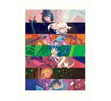Monogatari Series: Second Season - Mashup Art Print