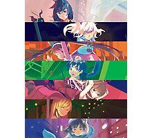 Monogatari Series: Second Season - Mashup Photographic Print