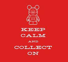 Keep Calm and Vinyl On Unisex T-Shirt