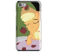 Applejack Tucks In Bloomburg  iPhone Case/Skin