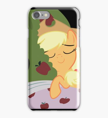 Applejack Tucks In Bloomburg  iPhone Case/Skin