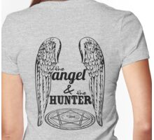 The Angel & The Hunter Womens Fitted T-Shirt