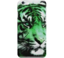 Green Tiger iPhone Case/Skin