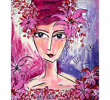 Pink Lady Photographic Print