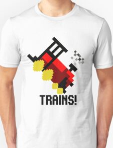 TRAINS! T-Shirt