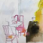 NY pink chairs by donna malone