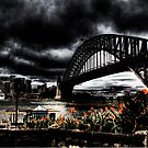 Storm Clouds over Sydney Harbour by Andrew  MCKENZIE
