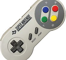 Super Nintendo Controller by rennyjogers
