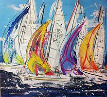 Ocean Racing by Regan O'Neill