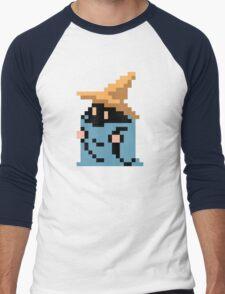 FINAL FANTASY - BLACK MAGE - RENDER (REDRAWN PIXEL) Men's Baseball ¾ T-Shirt