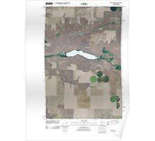 USGS Topo Map Washington State WA Sylvan Lake 20110401 TM Poster