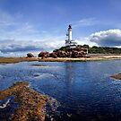 Point Lonsdale Lighthouse.  by Barry Feldman