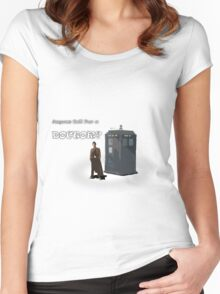 Anyone Call For a Doctor? Women's Fitted Scoop T-Shirt