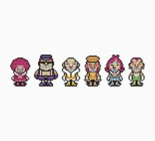 The Magypsies (Aeolia, Doria, Lydia, Phrygia, Mixolydia and Ionia) - Mother 3 Kids Tee