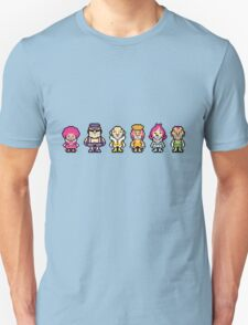 The Magypsies (Aeolia, Doria, Lydia, Phrygia, Mixolydia and Ionia) - Mother 3 T-Shirt