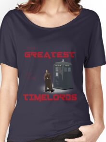 The Greatest Of The Timelords Women's Relaxed Fit T-Shirt