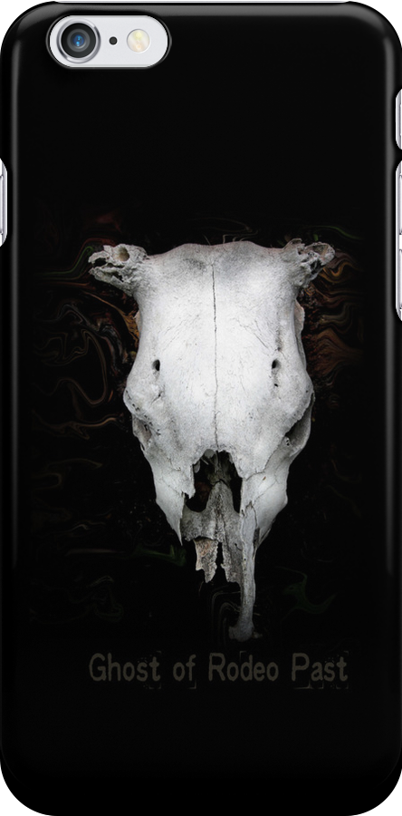 The Ghost of Rodeo Past Iphone Case by Carmen Holly