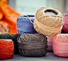 Colorful Threads by Jidhu Jose