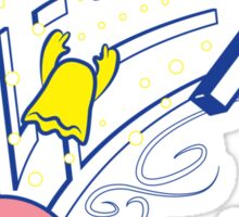 Kirby's game Sticker