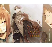 Ookami to Koushinryou - Spice and Wolf - Kraft Lawrence and Holo Photographic Print