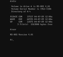 MS-DOS - PLEASE WAKE UP  Unisex T-Shirt