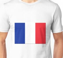 France Flag Shadow Unisex T-Shirt