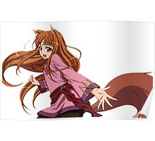 Ookami to Koushinryou - Spice and Wolf - Holo - TRANSPARENT (CUT RENDER) Poster