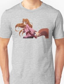 Ookami to Koushinryou - Spice and Wolf - Holo - TRANSPARENT (CUT RENDER) Unisex T-Shirt