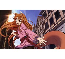 Ookami to Koushinryou - Spice and Wolf - Holo  Photographic Print