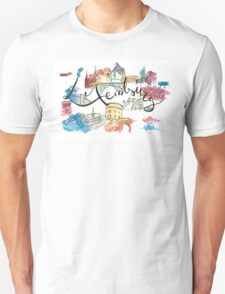 Tribute to Luxembourg T-Shirt