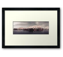 Infra red Tai O _ Hong Kong Framed Print