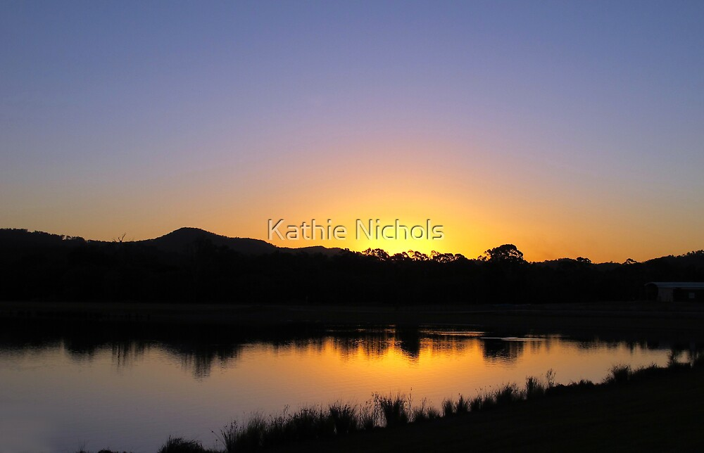 Coomera Sunset by Kathie Nichols