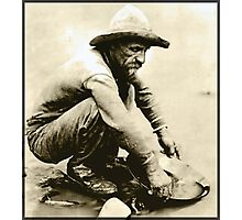 Old Miner Photographic Print