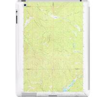 USGS Topo Map Washington State WA Aladdin Mtn 239765 1967 24000 iPad Case/Skin