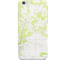 USGS Topo Map Washington State WA Mead 242268 1973 24000 iPhone Case/Skin