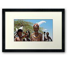Maasai Framed Print