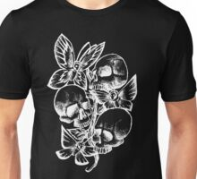 Life And Death White Unisex T-Shirt