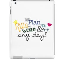Rule the World iPad Case/Skin
