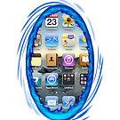 Portal iPhone Case iOS 6 by Gruntbuddy