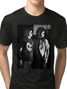 Les Twins (black) Tri-blend T-Shirt