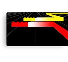 Building Blocks and Racing Cars Canvas Print