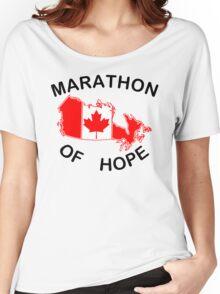 Marathon of Hope, 1980 v3 Women's Relaxed Fit T-Shirt