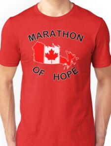 Marathon of Hope, 1980 v3 Unisex T-Shirt