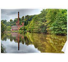 Masson Mill - Matlock Bath (HDR) Poster