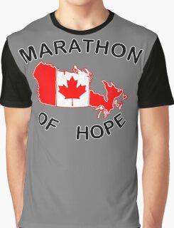 Marathon of Hope, 1980 v4 Graphic T-Shirt