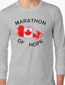 Marathon of Hope, 1980 v4 Long Sleeve T-Shirt