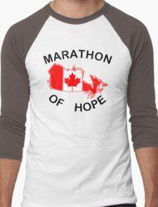Marathon of Hope, 1980 v4 Men's Baseball ¾ T-Shirt