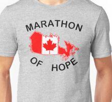 Marathon of Hope, 1980 v4 Unisex T-Shirt